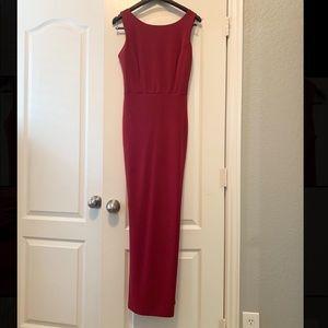 Burgundy Windsor Dress Size 8